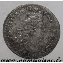 FRANCE - Gad 106 - LOUIS XIV - 4 SOLS WITH 2 L - 1691 B - Rouen