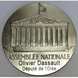 FRANCE - MEDAL - NATIONAL ASSEMBLY - OFFERED BY OLIVIER DASSAULT