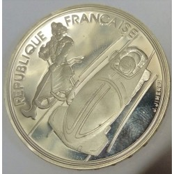 FRANCE - KM 981 - 100 FRANCS 1992 - 16th HIVER OLYMPIC GAME - BOBSLEIGH - ALBERTVILLE
