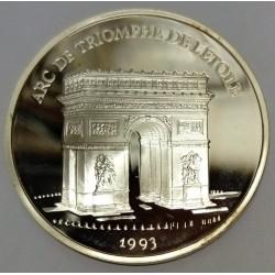 FRANCE - KM 1031 - 100 FRANCS / 15 ECUS 1993 - ARC DE TRIOMPHE