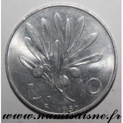ITALY - KM 90 - 10 LIRE 1950