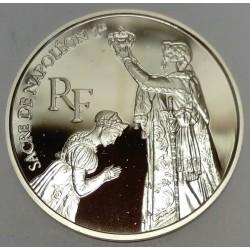 FRANCE - KM 1022 - 100 FRANCS 1993 - BICENTENARY OF THE LOUVRE MUSEUM - NAPOLEON'S CORONATION