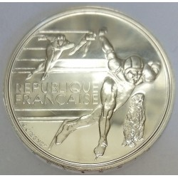 FRANCE - KM 980 - 100 FRANCS 1990 - TESTING - 16TH WINTER OLYMPIC GAMES - SPEED SKATING - ALBERTVILLE