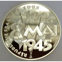 FRANCE - KM 995 - 100 FRANCS 1995 - 8 MAY 1945 - ARMISTICE