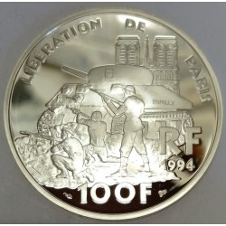 FRANCE - KM 1045.2 - 100 FRANCS 1994 - LIBERATION OF PARIS - - DESCENT OF THE CHAMPS-ELYSEES 1944