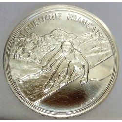 FRANCE - KM 994 - 100 FRANCS 1990 - TESTING - 17TH WINTER OLYMPIC GAMES - CROSS-COUNTRY SKIING - ALBERTVILLE