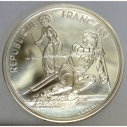 FRANCE - KM 984 - 100 FRANCS 1990 - TESTING - 17TH WINTER OLYMPIC GAMES - SLALOM - ALBERTVILLE