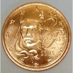 FRANCE - KM 1284 - 5 CENT 2005 - NEW MARIANNE