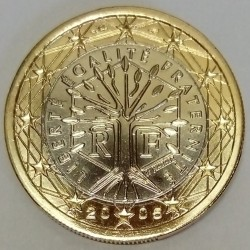 FRANCE - KM 1288 - 1 EURO 2005 - TREE