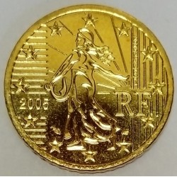 FRANCE - KM 1287 - 50 EURO CENT 2005 - THE SOWER