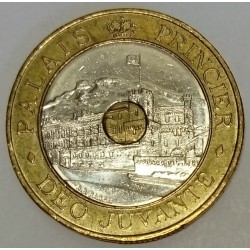 MONACO - KM 165 - 20 FRANCS 1997 - PRINCE RAINIER III - PALACE