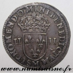 FRANCE - Gad 136 - LOUIS XIV - 1/4 ÉCU 1644 M - Toulouse - HAMMER COINAGE