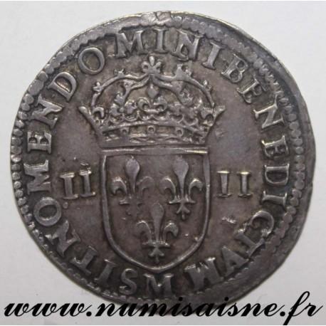 FRANCE - Gad 136 - LOUIS XIV - 1/4 ÉCU 1644 M - Toulouse - HAMMER COINAGE