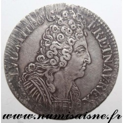 FRANCE - Gad 229 - LOUIS XIV - ECU WITH 3 CROWNS 1710 N - Montpellier