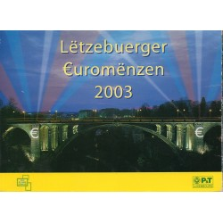 LUXEMBOURG - 3.88 EUROS MINTSET - 2003 - 8 COINS - UNCIRCULATED