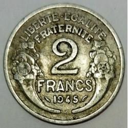 GADOURY 538a - 2 FRANCS 1945 C TYPE MORLON - KM 904