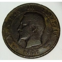 GADOURY 248 - 10 CENTIMES 1856 B Rouen TYPE NAPOLEON III - KM 771.2