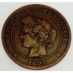 GADOURY 265a - 10 CENTIMES 1897 A PARIS TYPE CERES TORCHE - KM 815.1
