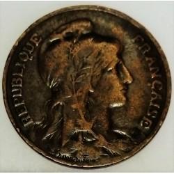 GADOURY 277 - 10 CENTIMES 1908 TYPE DUPUIS - KM 843