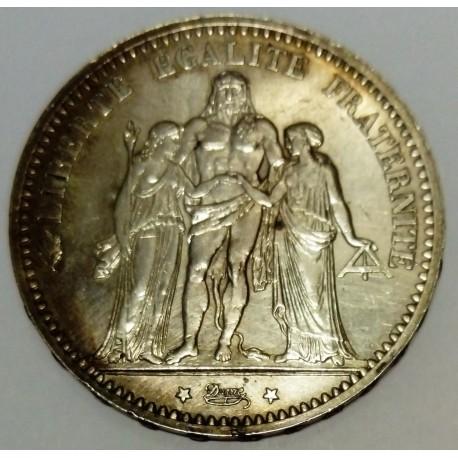 GADOURY 745a - 5 FRANCS 1874 A Paris TYPE HERCULE - KM 820
