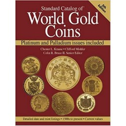 WORLD GOLD COINS - 1500s to present - 5th EDITION 2005 - PLATINUM AND PALLADIUM ISSUES INCLUDED - SECOND HAND