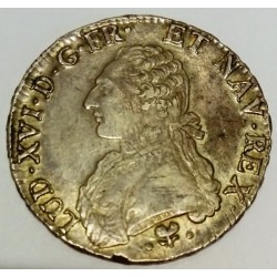 FRANCE - KM 564 - LOUIS XVI - 1774-1793 - ECU WITH OLIVE BRANCHES - 1782 L - BAYONNE