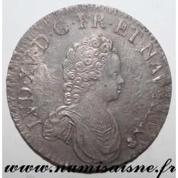 FRANCE - Gad 317 - LOUIS XV - ECU SAYS FARTHINGALE 1716 S - Reims