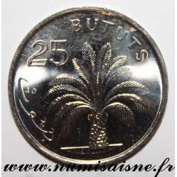 GAMBIA - KM 57 - 25 BUTUTS 1998