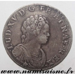 FRANCE - Gad 302 - LOUIS XV - 1/4 ECU SAYS FARTHINGALE 1716 W - Lille