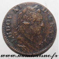 FRANCE - Gad 280 - LOUIS XV - SOL WITH OLD HEAD 1770 ϽϹ - Besançon