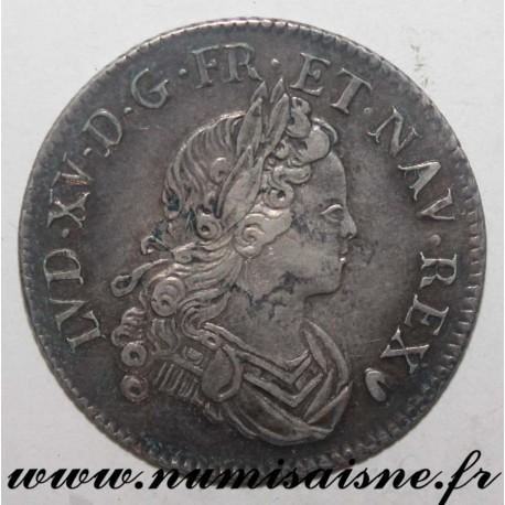 FRANCE - Gad 303 - LOUIS XV - 1/4 ECU SAYS FRANCE NAVARRE - 1718 BB - Strasbourg