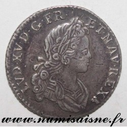 FRANCE - Gad 295 - LOUIS XV - 1/6 ECU SAYS FRANCE NAVARRE - 1720 D - Lyon