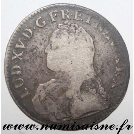 FRANCE - Gad 321 - LOUIS XV - ECU WITH OLIVE BRANCHES 1729 D - Lyon