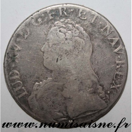 FRANCE - Gad 321 - LOUIS XV - ECU WITH OLIVE BRANCHES 1732 & - Aix