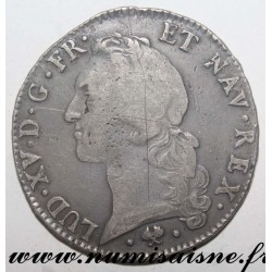 FRANCE - Gad 322 - LOUIS XV - ECU WITH HEADBAND 1765 L - Bayonne