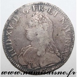 FRANCE - Gad 321 - LOUIS XV - ECU WITH OLIVE BRANCHES 1726 A - Paris
