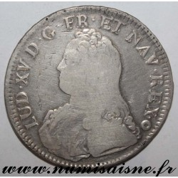 FRANCE - Gad 321 - LOUIS XV - ECU WITH OLIVE BRANCHES 1728 AA - Metz