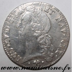 FRANCE - Gad 322 - LOUIS XV - ECU WITH HEADBAND 1766 L - Bayonne