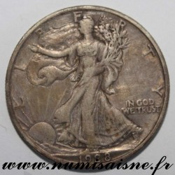 UNITED STATES - KM 142 - 1/2 DOLLAR 1928 S - San Francisco - WALKING LIBERTY