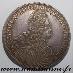 AUSTRIA - 1 THALER 1721 - CHARLES VI SUPERBE