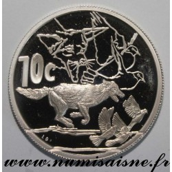 SOUTH AFRICA - KM 317 - 10 CENTS 2006 - JACKALS