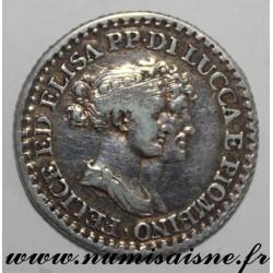 ITALY - LUCCA AND PIOMBINO - KM 23 - 1 FRANCO 1808 - ELISA BONAPARTE AND FELIX BACCIOCHI