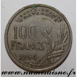 FRANCE - KM 919 - 100 FRANCS 1954 - TYPE COCHET