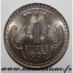 INDIA - KM 78 - 1 RUPEE 1977 - Bombay
