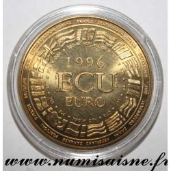 FRANCE - MEDAL - EUROPA - ECU 1996