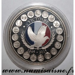 FRANCE - MEDAL - EUROPE OF THE XXVIII - VICTORY - 1945 - 2015