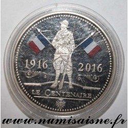 FRANCE - MEDAL - 100 YEARS OF 1st WORLD WAR 1916 - 2016