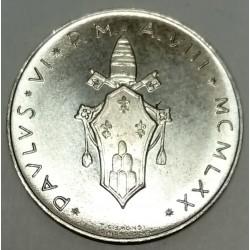 VATICAN - KM 116 - 1 LIRE 1970 - PAUL VI - FAO