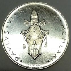 VATICAN - KM 116 - 1 LIRE 1971 - PAUL VI - FAO