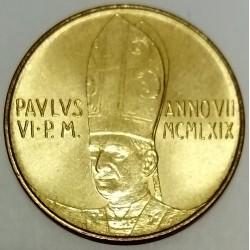 VATICAN - KM 112 - 20 LIRE 1969 - PAUL VI
